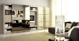 living room cabinets with doors luxury living room design with grey sofa sliding glass door cabinet beige curtain and white rug with shiny table lamp image