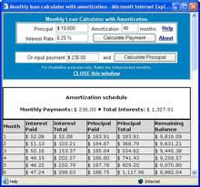 Canadian Mortgage Calculators With Amortization Table