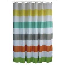 target shower curtains for kids shower curtain rugby stripes warm bathrooms ideas