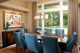 various the application of blue dining room chairs home decor on