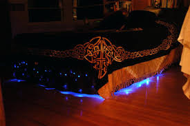under bed led lighting. Simple Bed Installing Internal Bed Lights Under  For Under Bed Led Lighting