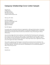 cover letter examples for scholarships co cover letter examples for scholarships