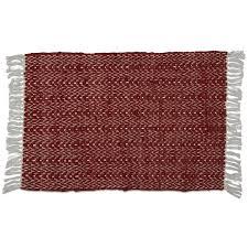 chevron rug with fringe