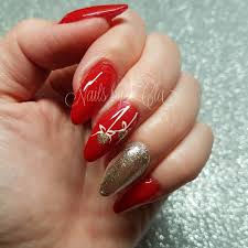 Easy Christmas Designs For Your Nails 45 Festive Christmas Nail Art Ideas Easy Designs For