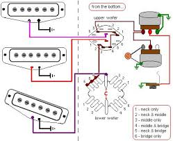 6 way rotary switch wiring diagram 6 wiring diagrams online 2 humbucker 5 way rotary switch