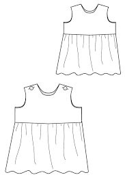 Baby Dress Patterns Impressive Raleigh Romper And Dress Blank Slate Patterns