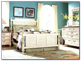 Distressed white bedroom furniture Willow Vintage Wooden Bed ...