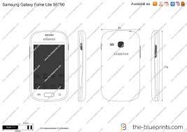 Samsung Galaxy Fame Lite S6790 vector ...