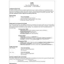 Example Career Objective For Resume Career Goal Resume Examples