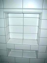 shower niche tiling tiling niches tiled bathroom niche with subway tile ceramic advice forums shower height tile redi shower niche