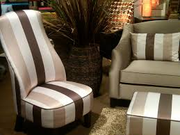 furniture trends. This Traditional Lined Sofa Gets A Fun Slant With More Contemporary Streamlined Chair. The High Back Is Current Trend Which Bodes Well For Taller People Furniture Trends