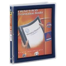 Avery Binder Presentation Flex View 1 2 Inch From King Soopers