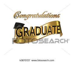 congratulations to graduate stock illustration of graduation congratulations k3870727 search