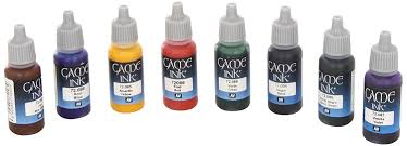 Vallejo Game Color Games Ink Acrylic Paint Set Assorted Colours