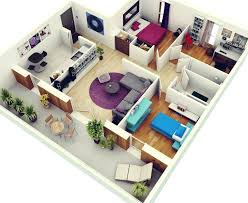 home design 3 basement floor plans with stairs in middle southern