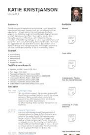 cv for a waiter waitress resume samples visualcv resume samples database