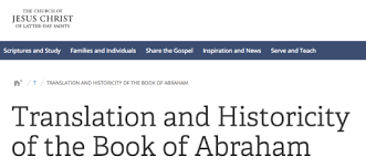 cherry picking the book of abraham essay thoughts on things and  the book of abraham essay · undefined