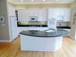 lovely beautiful oak wood floor and black countertop painting formica cabinets with refinishing laminate countertops