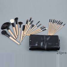 bobbi brown 24 pieces of brushes set with black pouch cosmetics 1126 1048 21 99 mac makeup