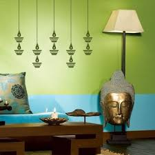 try to incorporate some stencil paint to create a focal point on your wall this way you will save time at the same time not burn a hole in your pocket