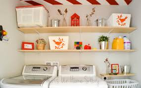 Simple Laundry Room Makeovers Simple Diy Wall Shelves For The Laundry Room Whats Ur Home Story