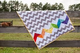 Rainbow Baby Quilt Tutorial - So You Think You're Crafty & Scrap Baby Quilt Adamdwight.com