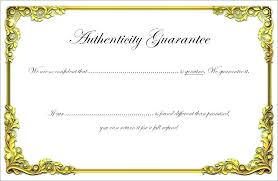 Attendance Letter Template And Warranty Certificate Template