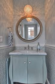 powder room bathroom lighting ideas. Powder Room Lighting Ideas Traditional With Gray Tile Crystal Knobs Bathroom A