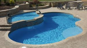 Fiberglass Swimming Pool Designs Cool Decorating