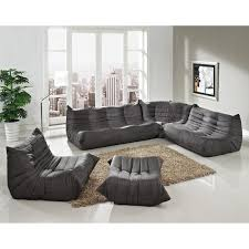 Jcpenney Living Room Furniture Awesome Gray Modular Sectional Sofa 97 In Jcpenney Sectional Sofa