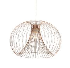 Jonas Copper Wire Pendant Ceiling Light | Departments | DIY at B&Q