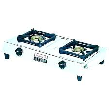 outdoor propane stove high pressure burner single camp outside gas top covers not lighting portable cast