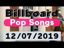 Billboard Top 40 Pop Songs December 7 2019