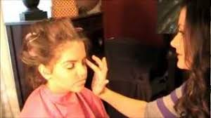 semi glitz or glitz pageant makeup tutorial via you