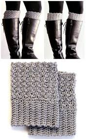 Free Crochet Boot Cuff Patterns Stunning Easy Reversible Crochet Boot Cuffs Crochet Knitting Weaving