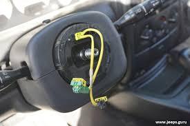 how to replace jeep grand cherokee 99 04 clock spring jeeps guru clock spring 13