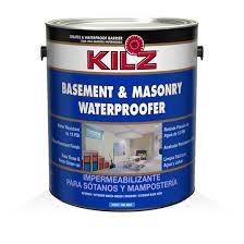 kilz basement masonry waterproofer