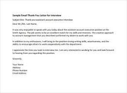 Thanks Letter After Phone Interview 13 Sample Thank You Letters After Phone Interview Sample Templates