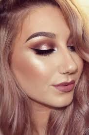 bridesmaid makeup top rose gold makeup ideas to look like a dess rosegoldmakeup