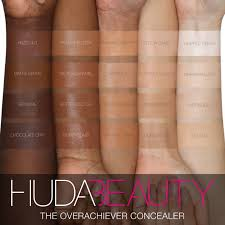 Makeup Forever Colour Chart How To Find Your Perfect Overachiever Concealer Shade Match