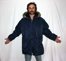 parka with faux fur hood navy blue hipster puffy ultra warm winter jacket mens womens er inuit eskimo hip hop hipsterjacket