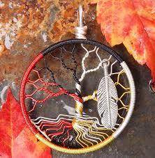 medicine wheel tree of life pendant