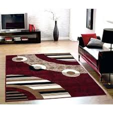 red circles rug sweet home s modern area small round rugs 8x10 r round red area rugs