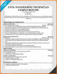 How To Write A Resume For Civil Engineers