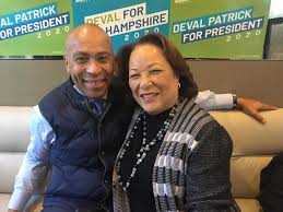 During Presidential Campaign, Deval And Diane Patrick Bring Mental Health  'Into The Open'   WBUR News