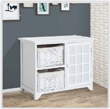 White Hall Bench Seat Storage Unit Bathroom Bedroom Cabinet Entryway  Furniture