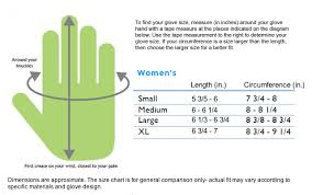 Hand Gloves Size Chart Glove It
