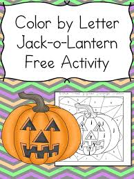 For every level, there are 12 phonics worksheets covering each skill that phonics hero teaches. Color By Letter Jack O Lantern Fun Educational Halloween Activty