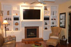 picture of how to build a fireplace bookcase