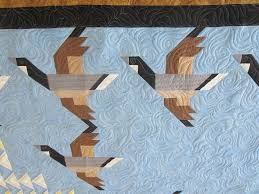 Flying Geese Quilt | pamelajeannestudio & The fact that there are pieced geese along with flying geese blocks was not  lost on me. Quite clever! Adamdwight.com